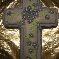 Floral Cross Cake This was a Mothers Day/Confirmation Cake
