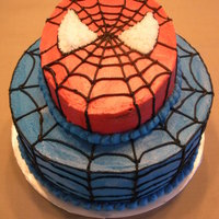 Spiderman My friend & I made this cake together