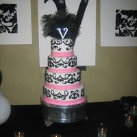 V's Bday Cake I loved this cake. It was for my cousins surprise bday party. She cried when she saw her cake (best feeling in the world for me as a new...