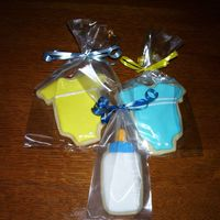 Baby Shower Cookies NFSC with Antonia74