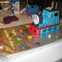 Thomas The Tank Buttercream Icing