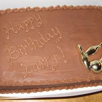 Birthday Cake All Choc.....