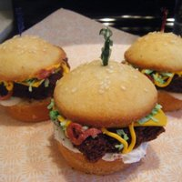 Hamburger Cupcales