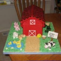 Hokey Pokey Farm This was made in 4 Days for the County Fair. I had gotten a lot of great tips from a gal here on CC. Thanks Michele.This is a 3-D Barn/Farm...