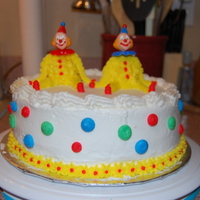 Clown Cake From Wilton Course I