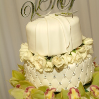 My Wedding Cake Cake i made for my wedding :)