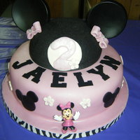 Minnie Mouse did for a 3rd birthday