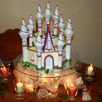 Cinderella's Castle Made for my sister birthday. it was a lot of fun to make