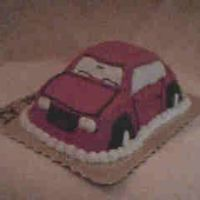 Red Car For my nephews first birthday. This is the second time that I did this car and I like it better this time.The first time was for another...