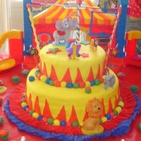 Circus Cake! Easy And Beautiful!