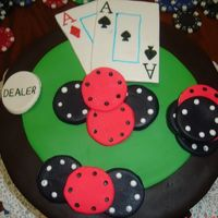 My 2Nd Poker Cake