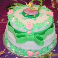 Tinkerbell Birthday Cake I made this cake for my great niece's 2nd birthday.