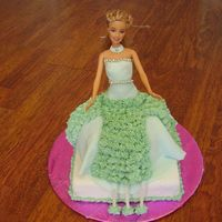 Barbie_Doll_Cake.jpg I made this Cake for my daughters 3rd Birthday, it's all she talked about all day
