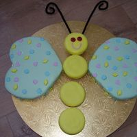 Butterfly Cake i made this cake for my daughters 2nd birthday
