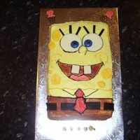 Sponge Bob This is a Sponge bob cake i made for a friends son's 5th birthday