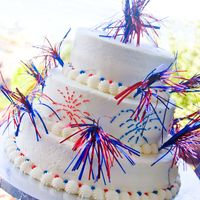_Mg_1716.jpg   Simple last minute cake for the 4th. Chocolate with cookies and cream filling with vanilla buttercream.