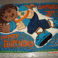 Go Diego Go I made for my son in his 3rd Birthday.
