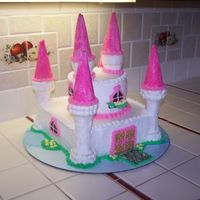 Castle Cake Funny story behind this cake.I always personaly carry the cake to my clients car when they come to pick-up,my policy is, after I secure the...