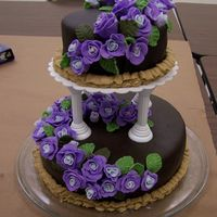 Final Cake Course 3 I had so much fun making this cake and yet I couldn't believe how much work went into making it. The cake was a moist white cake. The...