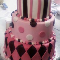 Pink Brown Baby Shower