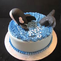 Shamu   Shamu is made from rice krispy treats