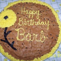 For Birthday Chocolate chip, Buttercream