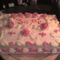 Roses And Swirlies 3 leches cake w/SMBC. Thanks for the inspiration CC. TFL.