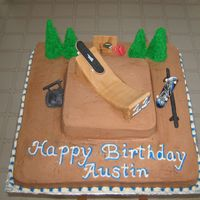 Skate Park This is a cake I made for alittle boy who loves skateboarding. All buttercream icing with fondant accents