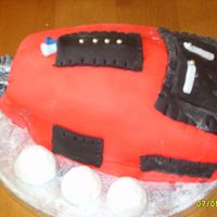 Golf Bag last minute fondant golf bag