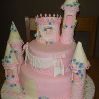 1St Birthday Castle  This was for my best friends daughters 1st birthday! I am super happy with it. Towers were made from pastillage. Took me 7 hours to...