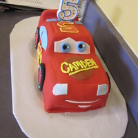 Lightening Mcqueen My second big try at Fondant. After the Mater incident a few years ago and having to resort to faux yellow on my LPS cake, I decided to...