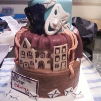 Drama Cake This cake was made for afriends drama show she was having. of Dear Edwina