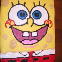 Spongebob Square Pants This was a 1/4 sheet that I did for a co-workers' sister's birthday.