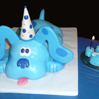 It's A Clue - Blue's Clues! Here's the Blue's Clues cake I made for my nephew who turned 4. This was my second time working with fondant, and my first 3-D...