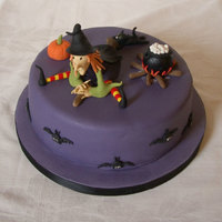 Wendy The Witch First Halloween cake