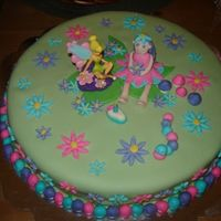 Tinkerbell Made this for my daughter's birthday. Was not too happy with the colours, but given that I made this in a kitchen that was not mine, I...
