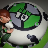 Ben 10 Ben 10 cake made for a little boy. Chocolate cake with chocolate fudge in the middle. Covered in MMF. All decorations are MMF. I thought it...