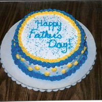 Father's Day Cake Simple father's day cake