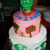 Yo Gabba Gabba / Brobee Cake   Brobee 1st Birthday Cake as requested by celebrant