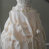 Bridal Gown Cake Thanks for looking.