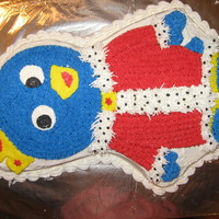 "King Pablo Cake for my son - inspired by the Backyardigans ""Tale of the Mighty Knights"" special"