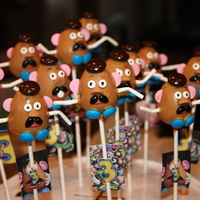 Cake Pops! Cake pops I made for my sons 3rd birthday. The kids LOVED them! Idea came from Bakerella...thank you!
