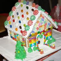 Wilton Gingerbread House 2008 I used the re baked, not assembled, Wilton House Kit then decorated and assembled. I was doing houses with my nephews so we had some extra...