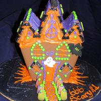 Halloween Cookie House Pre baked Wilton Halloween Cookie House.