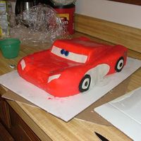 Mcqueen From Cars Cake