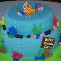 Gavin's Nemo This is for my son's 1st birthday. I had a lot of fun with this one! I think it is one of my better cakes. Slowly but surly, I'm...