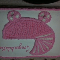 Baby Buggy Cake Made this sheet cake for a large baby shower. All buttercream.
