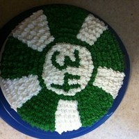 Poker Chip Cake Made this cake for a friend's 34th birthday. Big poker fan.