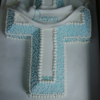 Confirmation Cross confirmation cake