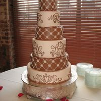 Ivory And Chocolat Buttercream